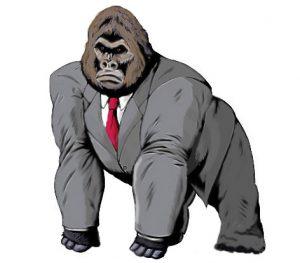 Guerrilla Gorilla Marketing Man